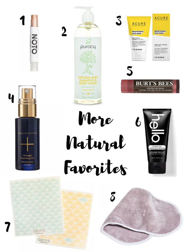More Natural Favorites